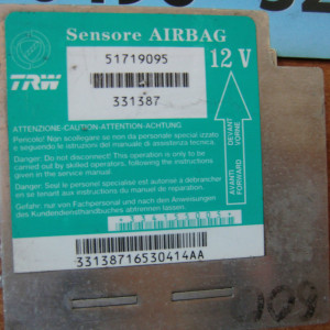 CENTRALINA AIRBAG FIAT 600 SEICENTO 51719095