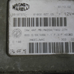 CENTRALINA MAGNETI MARELLI FIAT SEICENTO IAW4AF.M9
