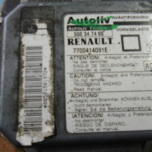 CENTRALINA AIRBAG PEUGEOT 9628740380  550539200