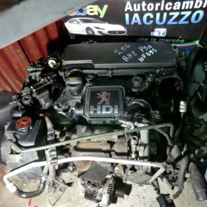MOTORE PEUGEOT 206 1.4 HDI COMPLETO BHZ PSA 10FD95